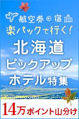 航空券+宿 北海道楽パック特集!