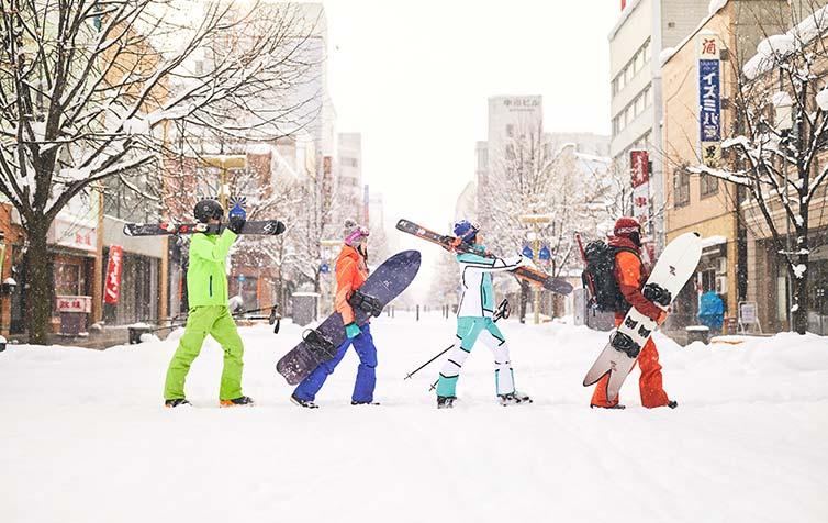 2019‐Winter‐2020 旭川スキー都市宣言冬も楽しい!OMOでスキー!