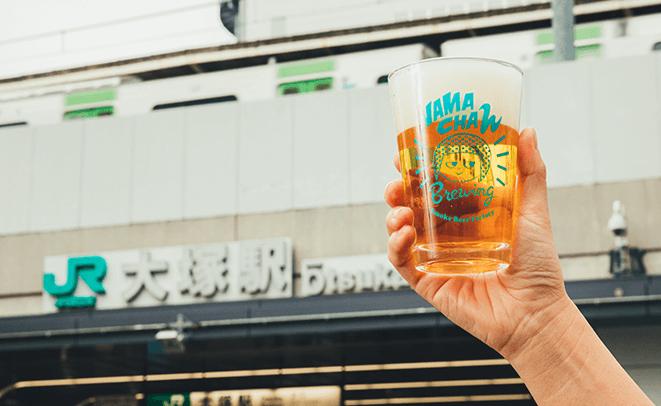 何が飲めるかはお楽しみ!山手線沿いの3つのブルワリーから集めたビール