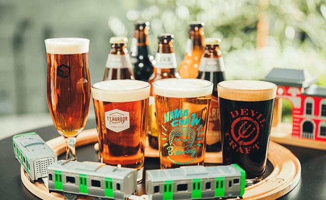 山手線の沿いでクラフトビールを満喫
