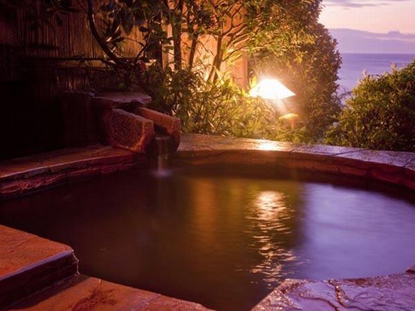 海一望無料の貸切露天風呂が人気の宿 片瀬館ひいな