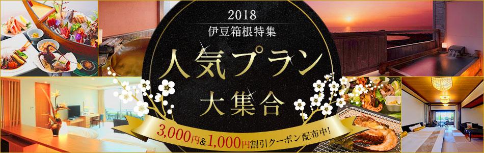 伊豆箱根エリア 2018年人気プラン大集合