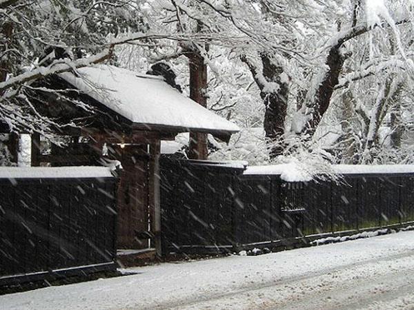 冬の武家屋敷