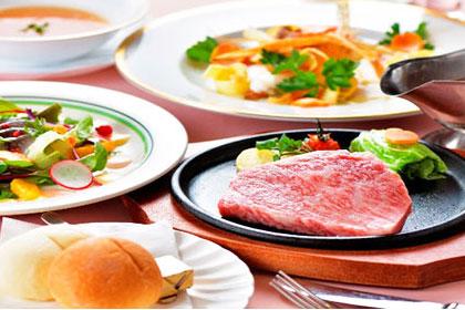 食材選びにこだわった料理長自慢のお料理が楽しめます