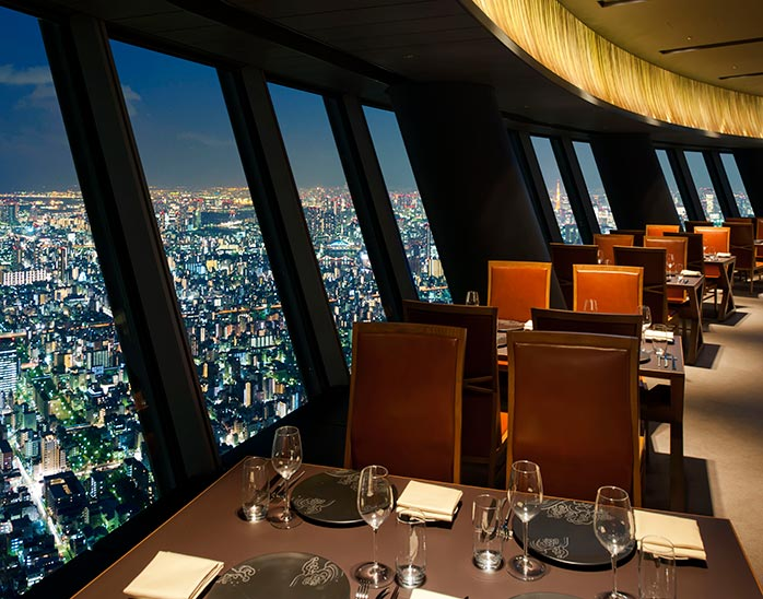Sky Restaurant 634 (musashi)|写真提供:東武ホテルマネジメント