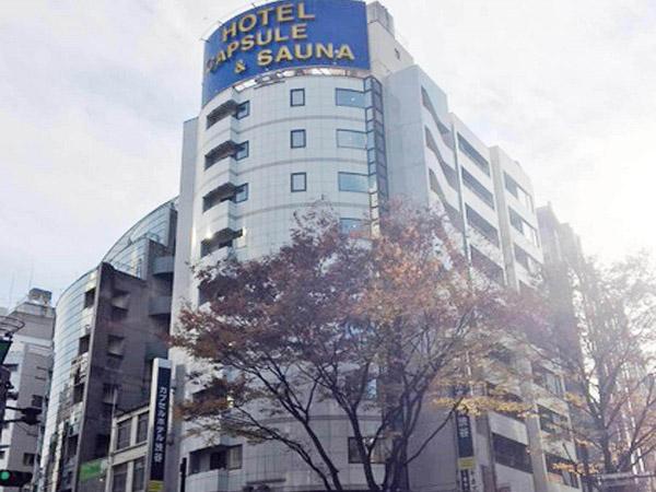 カプセルホテル渋谷ー男性専用ー