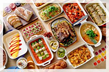 オープンキッチンで広々とした室内海風を感じられる南国情緒漂うレストラン