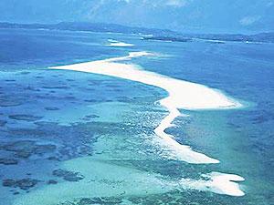 ハテの浜(久米島)