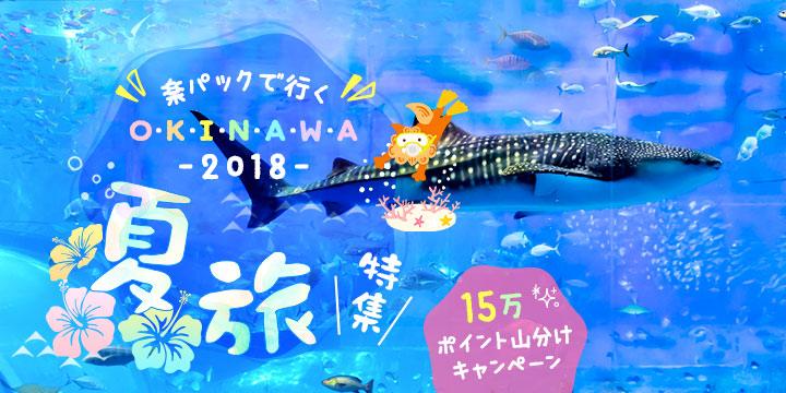 楽パックで行く! 2018沖縄「夏旅」特集