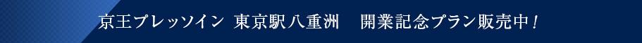 京王プレッソイン 東京駅八重洲 開業記念プラン販売中!