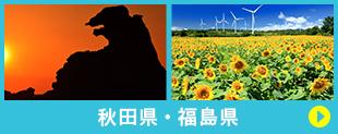 秋田県・福島県