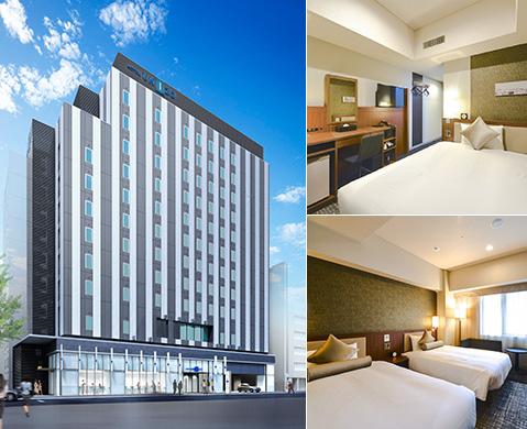 博多駅前地区に立地する、上質なくつろぎの時間を提供するプレミアム・ビジネスホテル