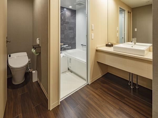 水回り3点独立型客室の一例◆仙台