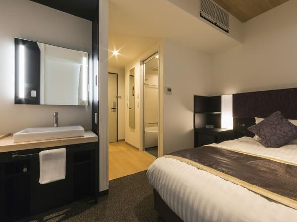 便利な客室はあらゆる宿泊需要に対応◆広島