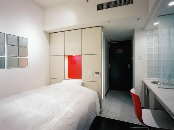 デザインにも優れた客室◆札幌[中島公園]
