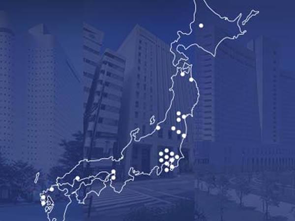 全国26ホテル、好立地のビジネス拠点