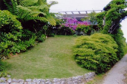 湧川別邸の外観