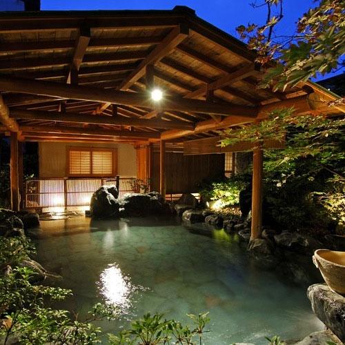 上牧温泉 人気の貸切風呂と炭火山里料理の宿 辰巳館 画像