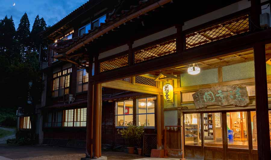 松之山温泉で祖父母が喜ぶ和食が食べられる宿は?