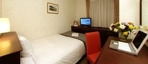 パイオランドホテルの室内