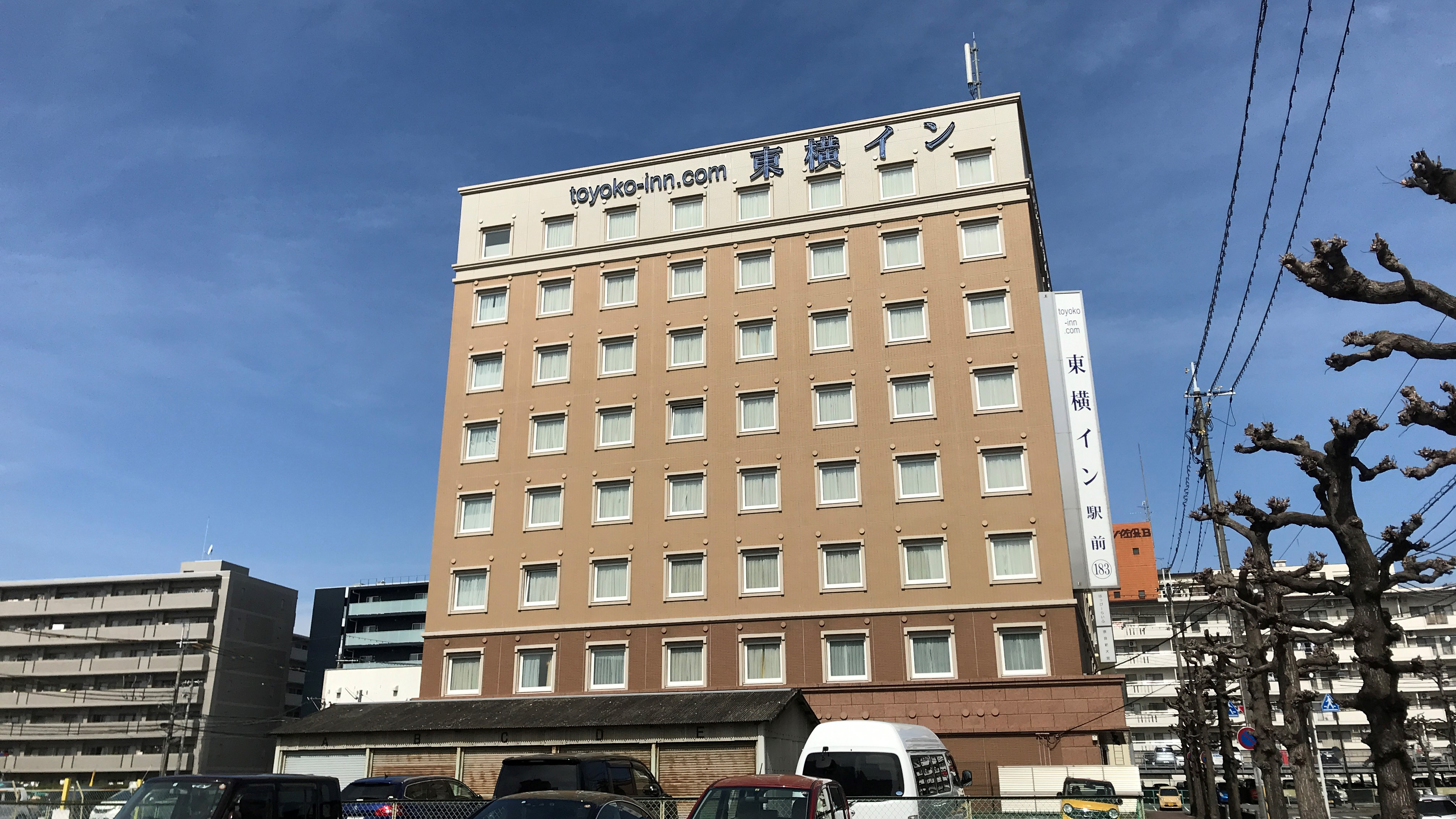東横イン奈良新大宮駅前の外観
