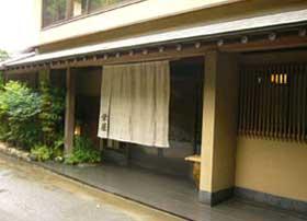 栄屋旅館の外観