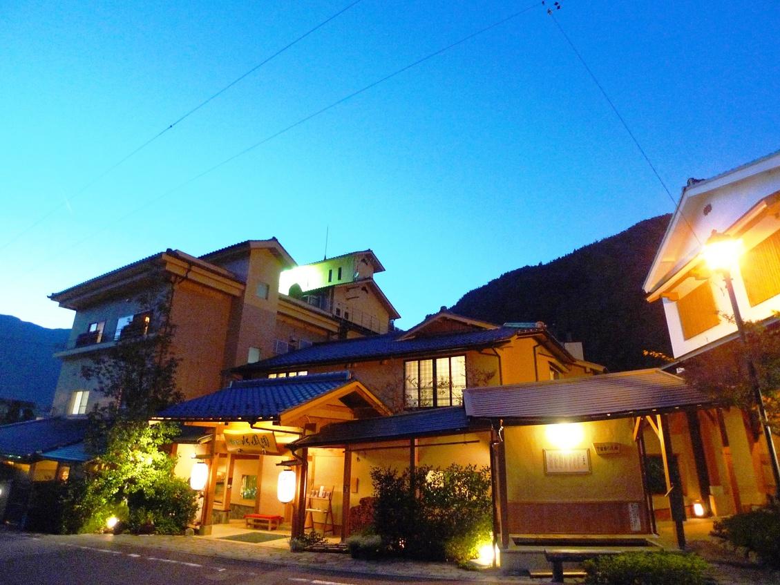 下呂温泉の温泉の良さが楽しめる、食事の良い温泉旅館を教えて