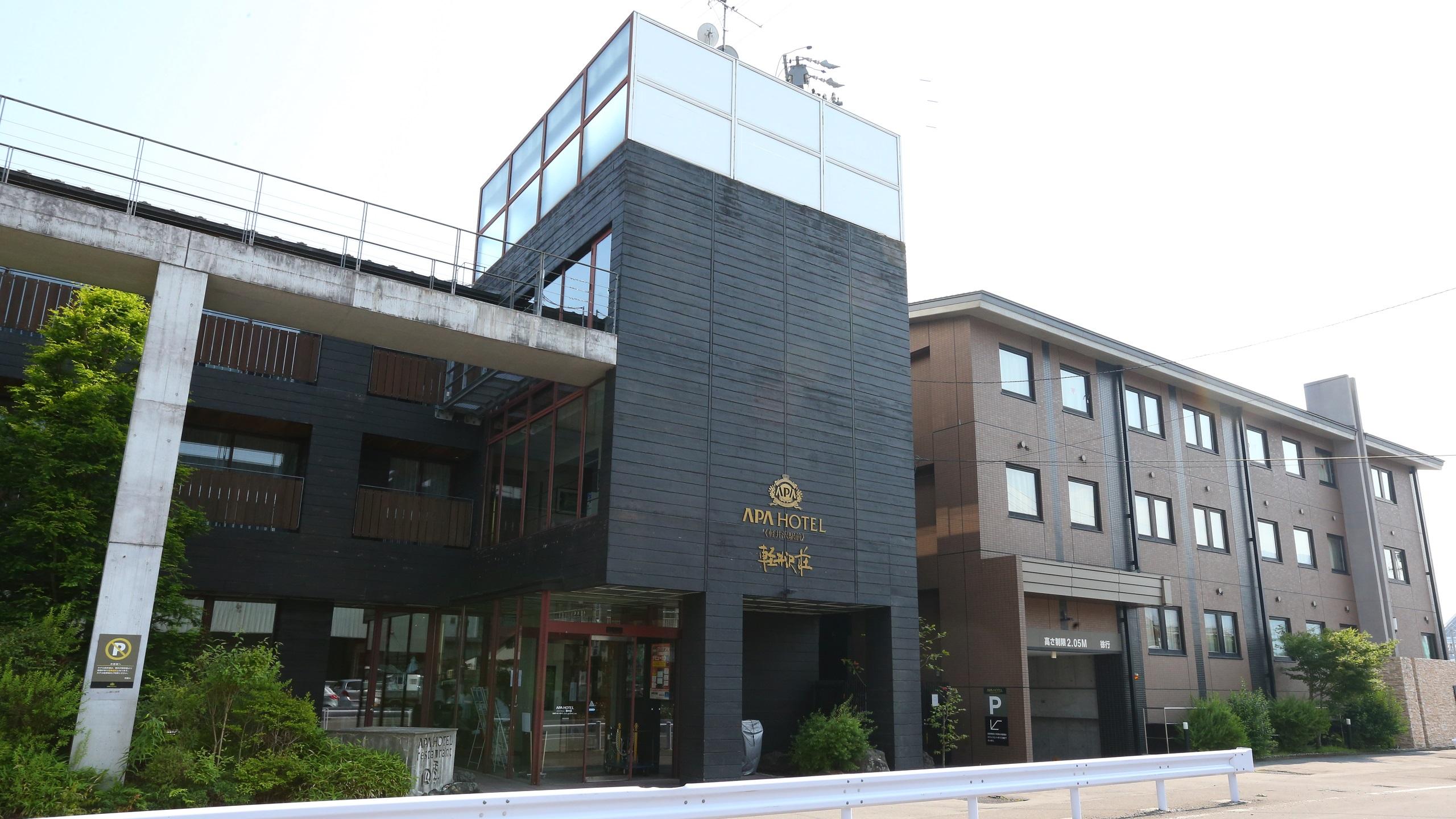 自転車での軽井沢観光に便利なホテルを教えてください。