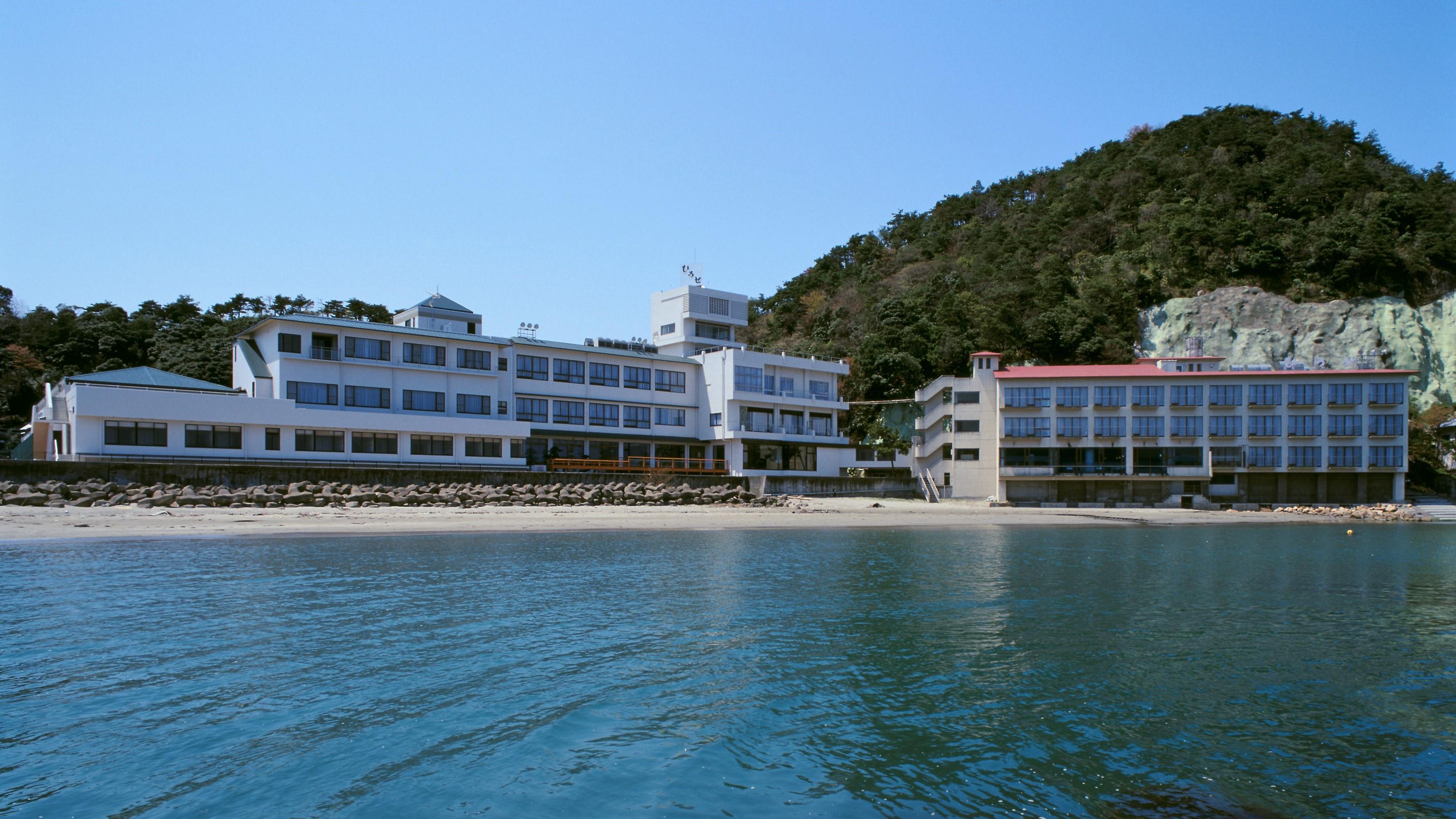 美浜温泉 海のホテル ひろせ その1