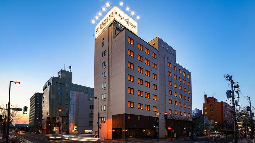 帯広天然温泉 ふく井ホテル 外観写真