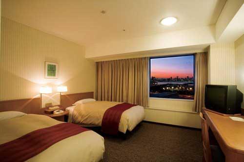 東京ベイ有明ワシントンホテルの客室の写真