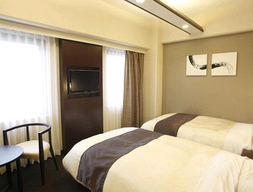 ホテルビナリオ梅田の客室の写真