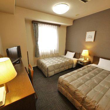 ホテルルートイン美濃加茂の客室の写真