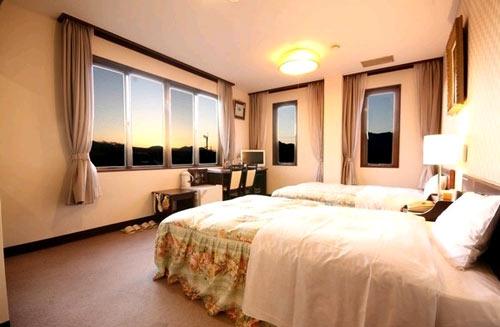ビジネスホテル河口湖の客室の写真