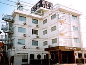 ホテル ハトヤの外観