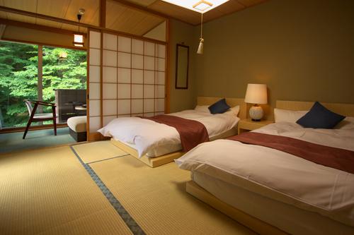 【新館2名部屋】和室ベッドタイプ+広縁