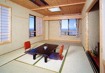 【現金特価】灯台門の目の前、全室から雄大な太平洋の眺望