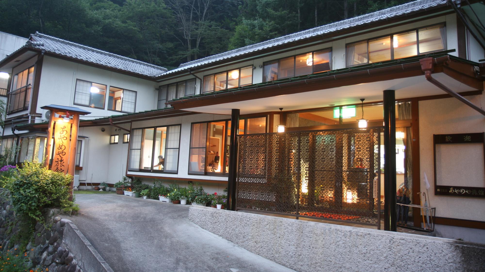 四万温泉に男一人旅。和の雰囲気が良い、平日1泊15,000円以下の宿