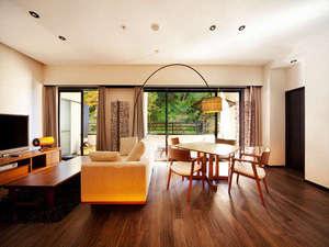 会津東山温泉 客室専用露天風呂付のスイートルーム はなれ 松島閣 画像