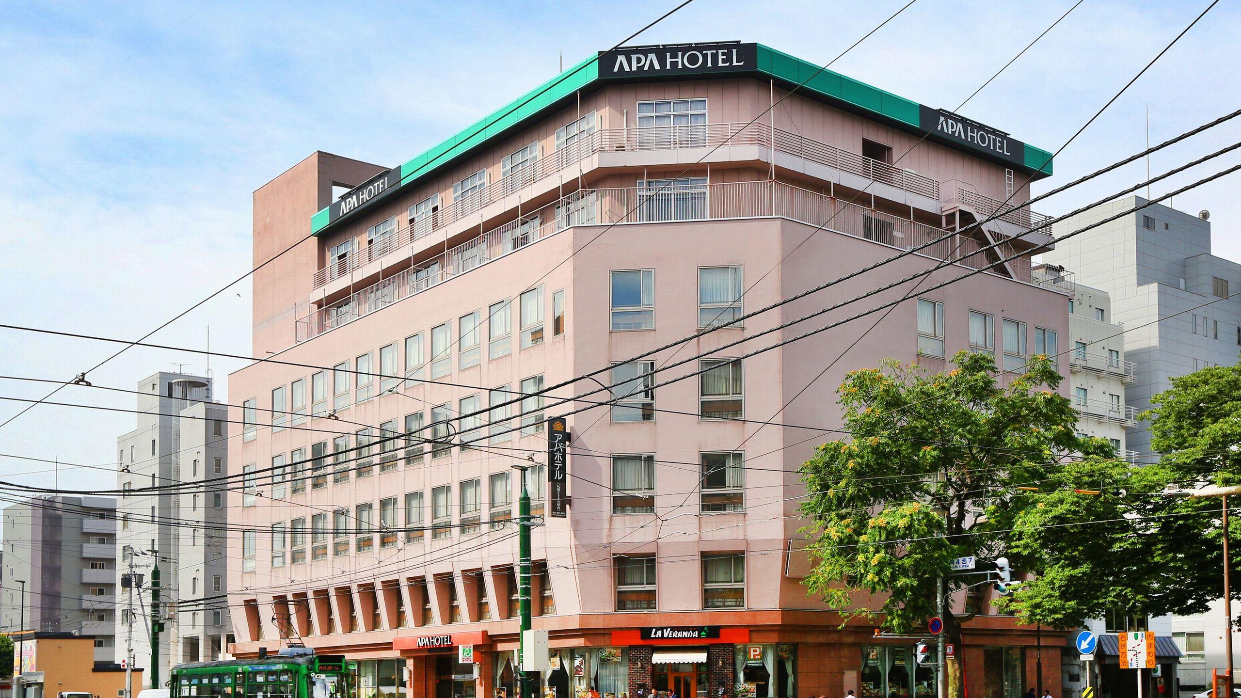 アパホテル<札幌すすきの駅西>...