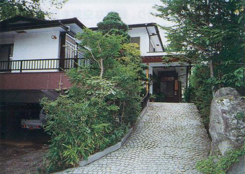 四季の宿天山荘の外観