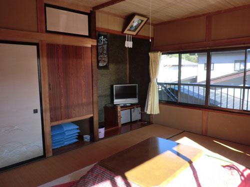 富士五湖精進湖畔 民宿ちどり荘