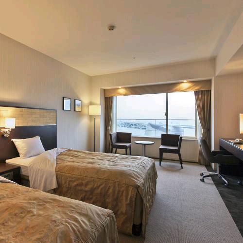 シーサイドホテル舞子ビラ神戸の客室の写真