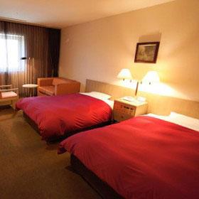 ホテル メルパルク仙台の室内