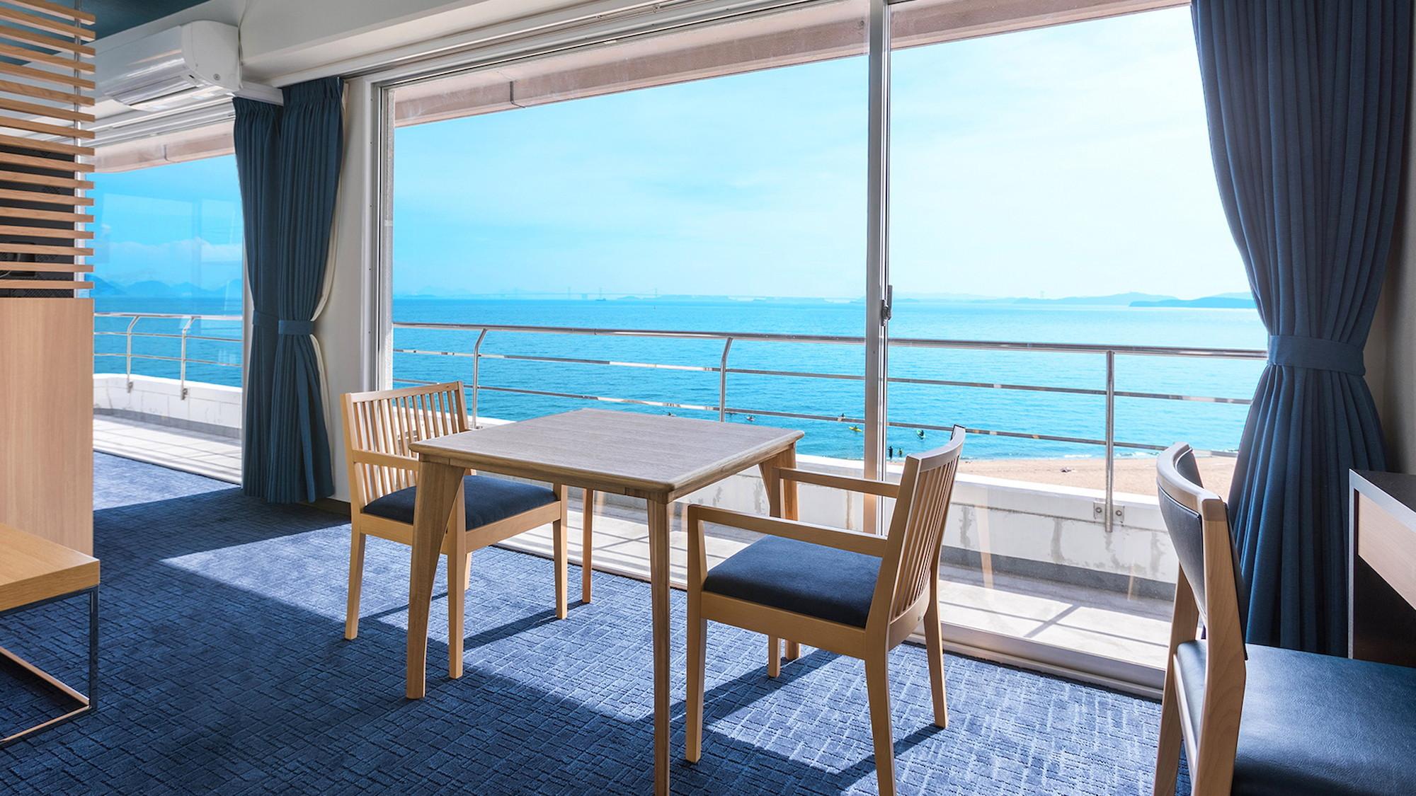ダイヤモンド瀬戸内マリンホテルの客室の写真