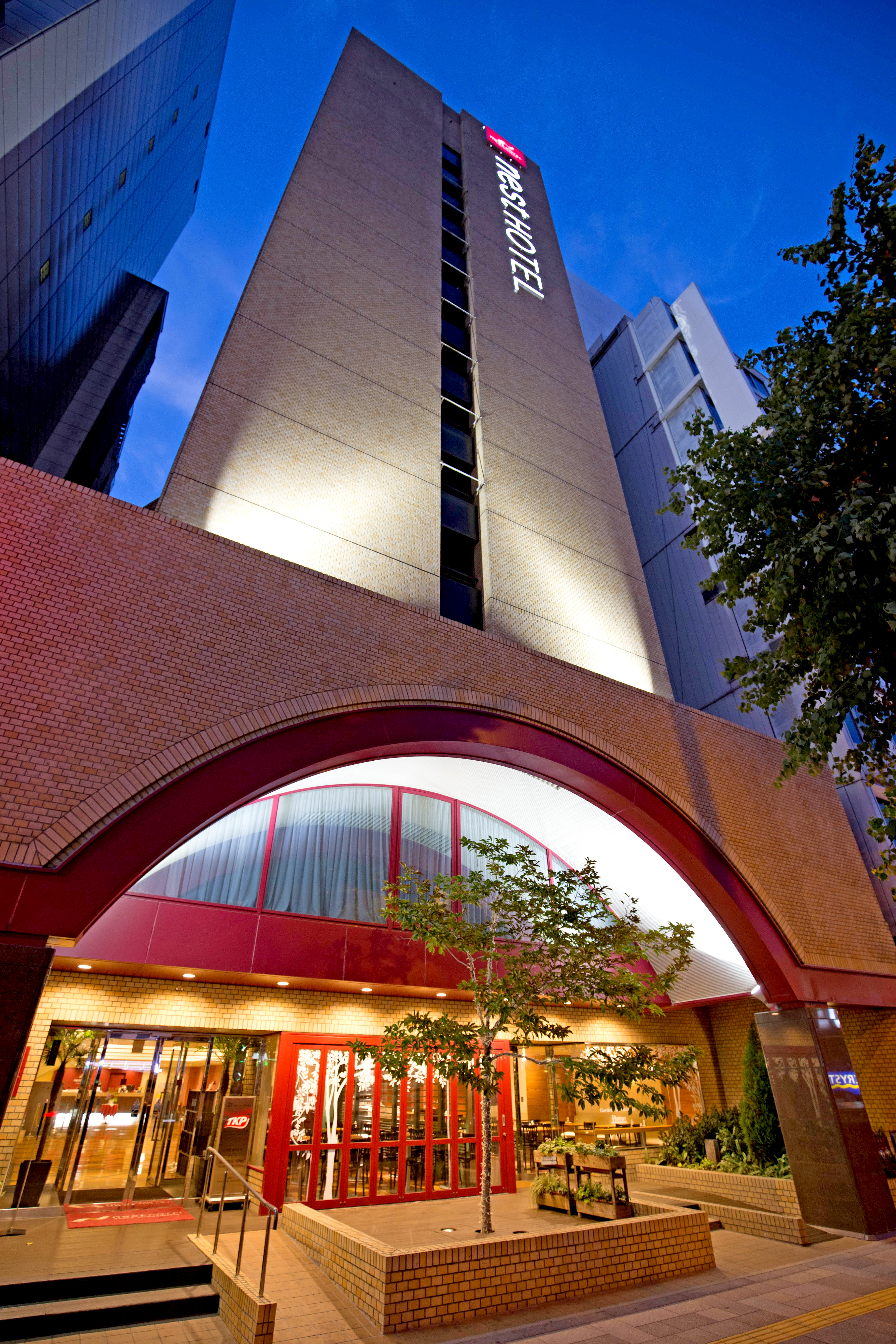 ネストホテル大阪心斎橋(2016年7月リニューアルオープン)