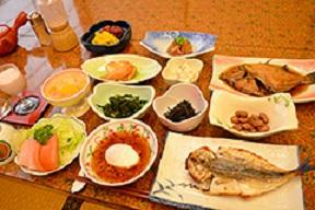【朝食のみ】漁師町ならではの朝ごはんで元気チャージ![現金特価]