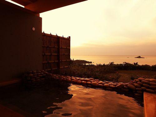 海と入り陽の宿 帝水 秋田 男鹿半島戸賀湾を見下ろす絶景の温泉旅館 画像