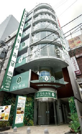 豪華カプセルホテル安心お宿プレミア新宿駅前店
