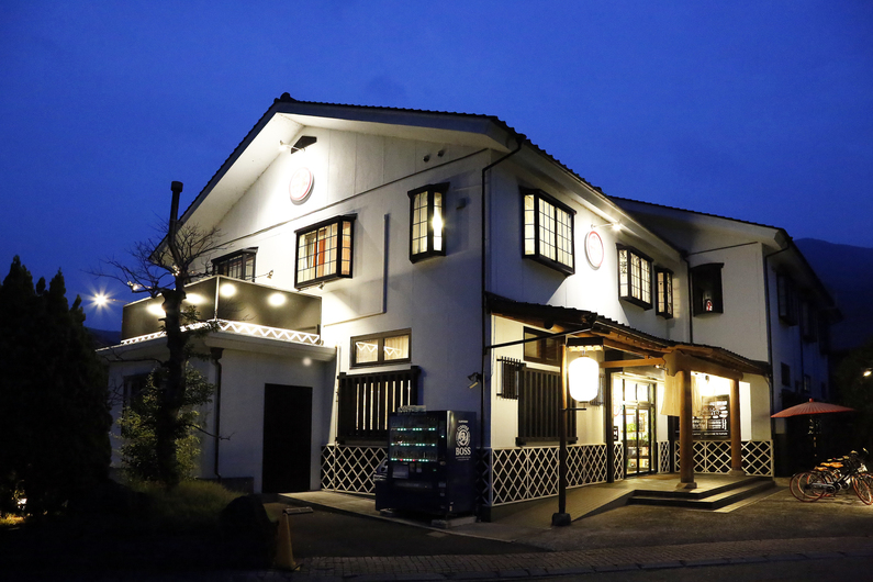 和モダンな温泉旅館 湯布院旅の蔵...
